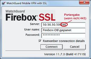 watchguard mobile vpn with ssl client 11.5